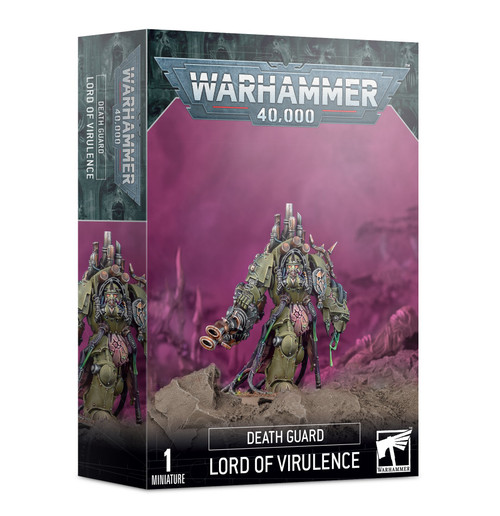 (Preorder) Warhammer 40K: Chaos Space Marines - Lord Of Virulence