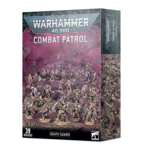 Warhammer 40K: Chaos Space Marines - Combat Patrol: Death Guard