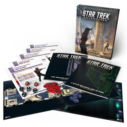 Miscellanous RPGs: Star Trek Adventures RPG: Starter Set