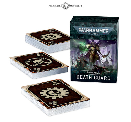 Warhammer 40K: Chaos Space Marines - Datacards: Death Guard (9th)