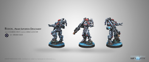 Infinity: Combined Army - Rodok, Armed Imposition Detachment (Missile Launcher)