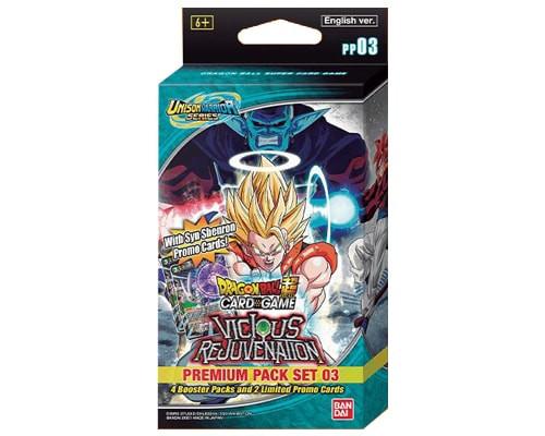 DragonBall Super: Premade Decks/Special Items - Dragon Ball Super: Vicious Rejuvenation Premium Pack - Unison Warrior Series 03
