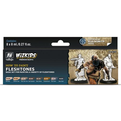 Paint: Vallejo - WizKids Premium: Fleshtones