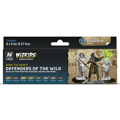 Paint: Vallejo - WizKids Premium: Defenders of the Wild