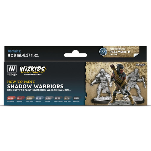 Paint: Vallejo - WizKids Premium: Shadow Warriors