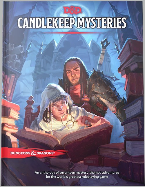 (Preorder) Dungeons & Dragons: Books - Candlekeep Mysteries (Reg. Cover)
