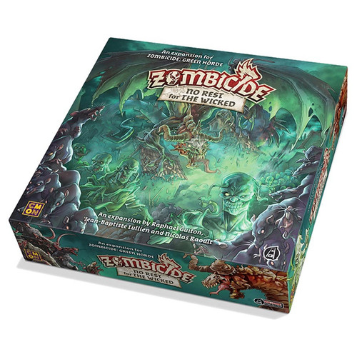 Board Games: Zombicide - Zombicide: Green Horde - No Rest for the Wicked