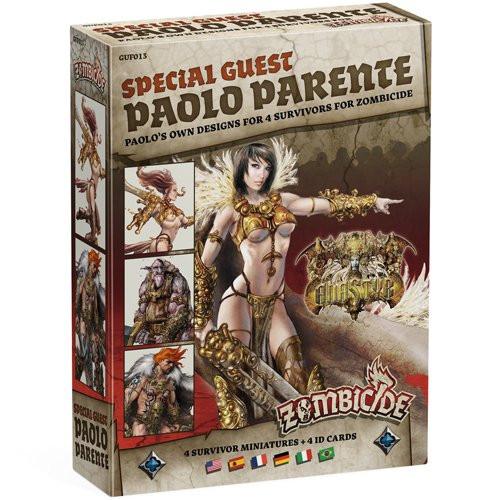Board Games: Zombicide - Zombicide: Special Guest Paolo Parente