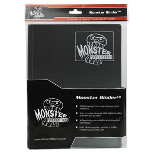 Binder: 9pkt Monster Matte BK