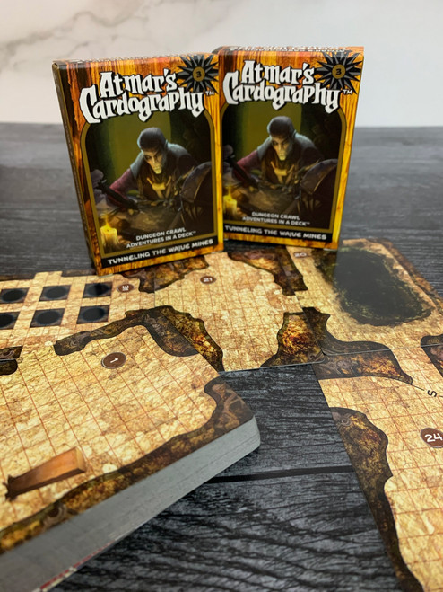 Dungeons & Dragons: DM Support - Atmar's Cardography 03 – Tunneling the Wajue Mines