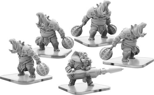 Monpoc: Legion of Mutates - Bashers and Blaster (Unit)