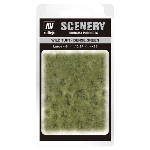 Paint: Vallejo - Scenery: Wild Tuft: Dense Green: Large