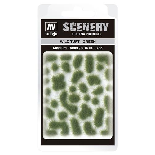 Paint: Vallejo - Scenery: Wild Tuft: Green: Medium