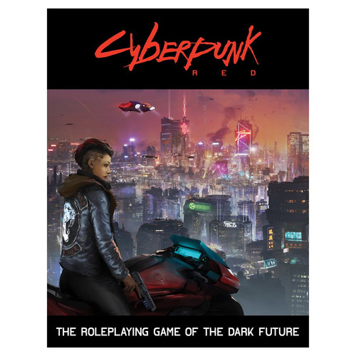 Miscellanous RPGs: Cyberpunk Red