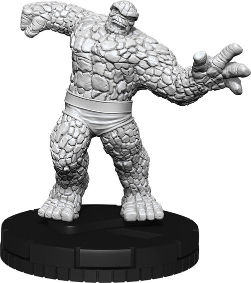 HeroClix: Marvel: Deep Cuts Unpainted Minis - The Thing