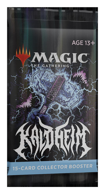 Magic The Gathering Sealed: Kaldheim - KHM Collector Booster Pack