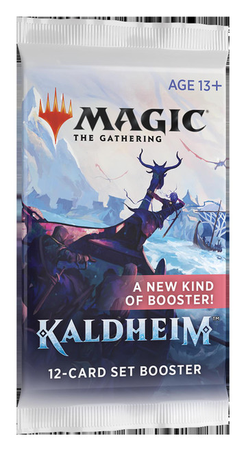 Magic The Gathering Sealed: Kaldheim - KHM Set Booster Pack