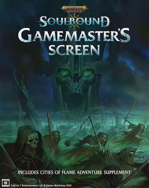 Miscellanous RPGs: Soulbound: Age of Sigmar - Gamemaster's Screen