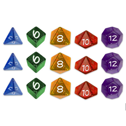 Dice and Gaming Accessories Game-Specific Dice Sets: Sentinel Comics RPG: Dice Set