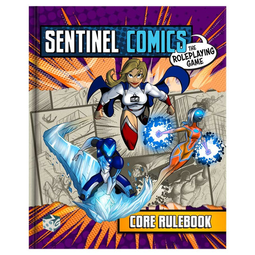 Miscellanous RPGs: Sentinel Comics RPG: Core Rulebook