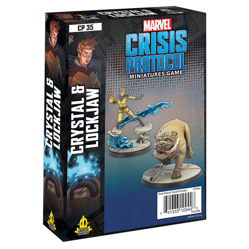 Marvel: Crisis Protocol: Crystal And Lockjaw Character Pack