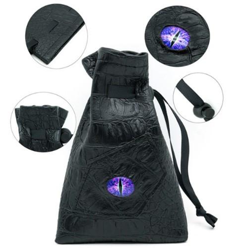 Dice and Gaming Accessories Dice Bags: Dice Bag - Dark Mage Eye
