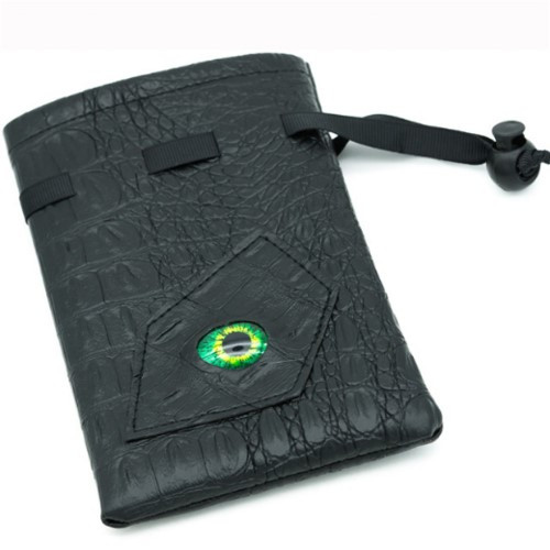 Dice and Gaming Accessories Dice Bags: Dice Bag - Jade Dragon Eye