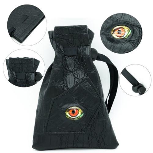 Dice and Gaming Accessories Dice Bags: Dice Bag - Reptilian Eye