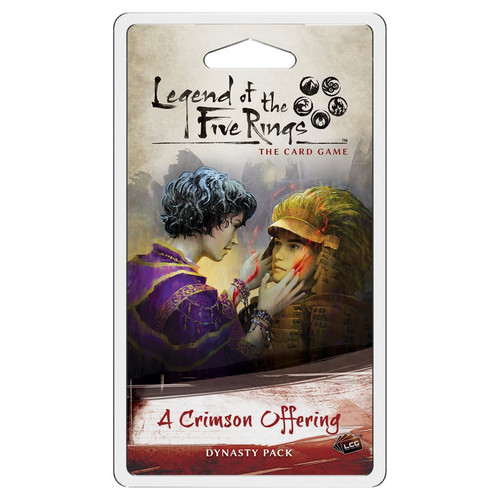 Card Games: Legend of the Five Rings - L5R LCG: A Crimson Offering Dynasty Pack