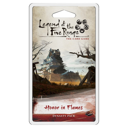 Card Games: Legend of the Five Rings - L5R LCG: Honor in Flames Dynasty Pack