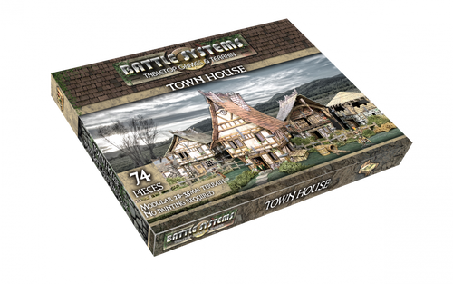 Terrain/Scenery: Battle Systems: Town House