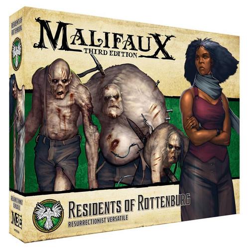 Malifaux: Resurrectionists - Residents of Rottenburg