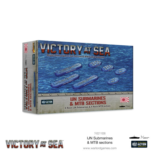Bolt Action: Victory at Sea: IJN Submarines & MTB Sections