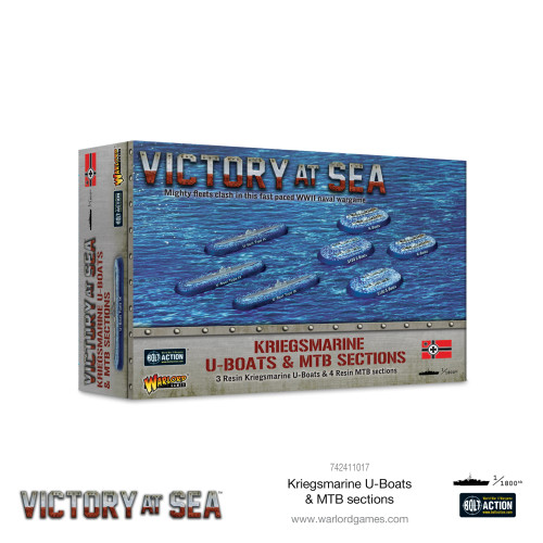 Bolt Action: Victory at Sea: Kriegsmarine U-Boats & MTB Sections