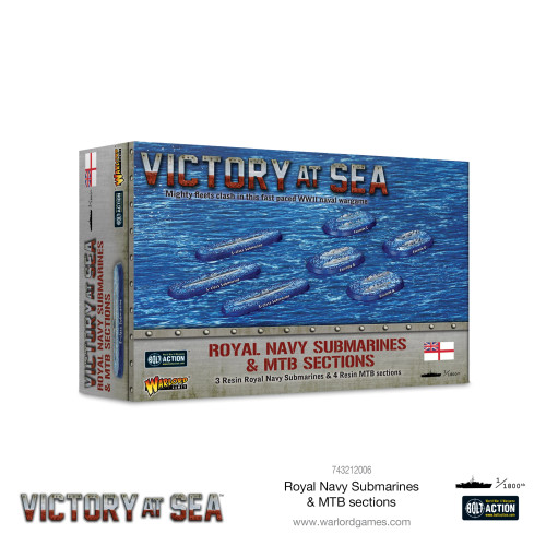 Bolt Action: Victory at Sea: Royal Navy Submarines & MTB Sections