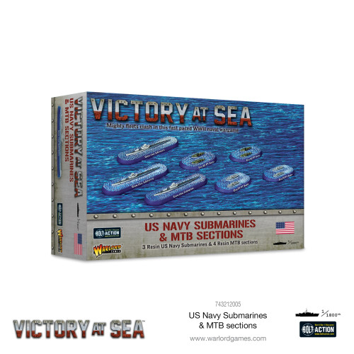 Bolt Action: Victory at Sea: US Navy Submarines & MTB Sections
