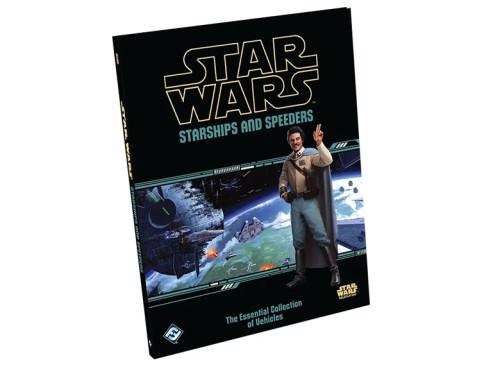 Star Wars RPG: Starships And Speeders Hardcover Fantasy Flight Games