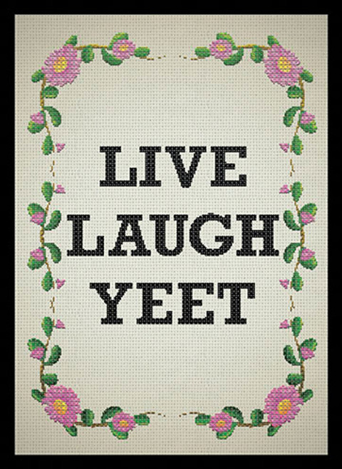 Live Laugh Yeet Deck Box