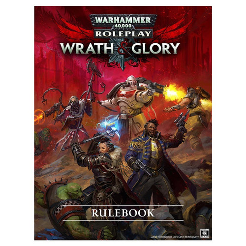 Wrath & Glory: Warhammer 40K RPG: Core Rulebook Revised (HB)