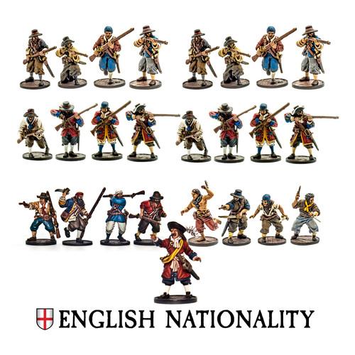 Blood & Plunder: English Nationality Set