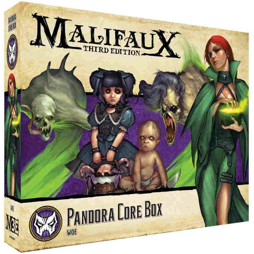 Malifaux: Neverborn - Pandora Core Box