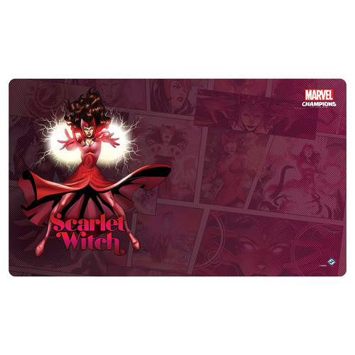 Card Games: Marvel Champions - Scarlet Witch Game Mat