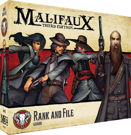 Malifaux: Guild - Rank And File