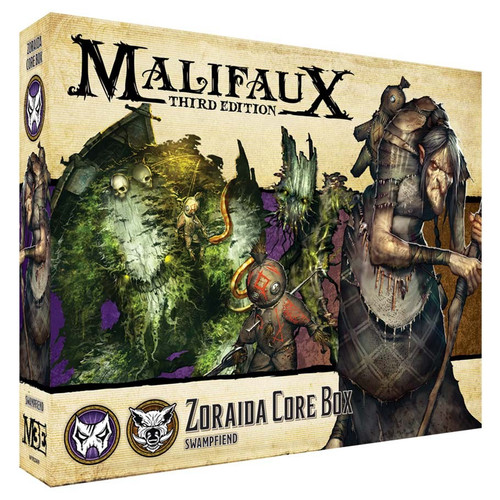 Malifaux: Neverborn - Zoraida Core Box