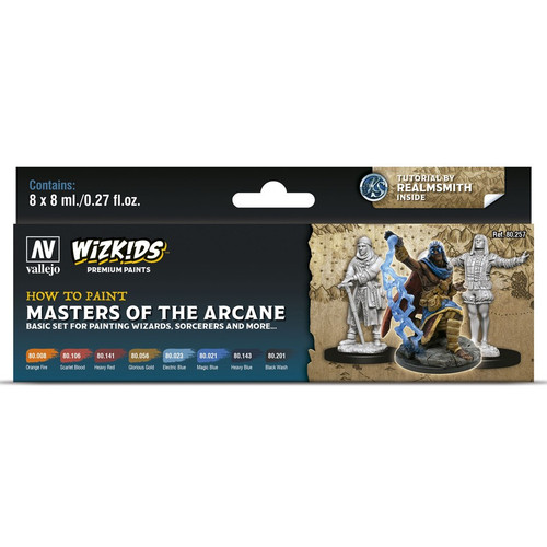 Paint: Vallejo - WizKids Premium: Masters of the Arcane