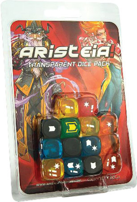 Dice and Gaming Accessories Game-Specific Dice Sets: Aristeia! Transparent Dice Pack