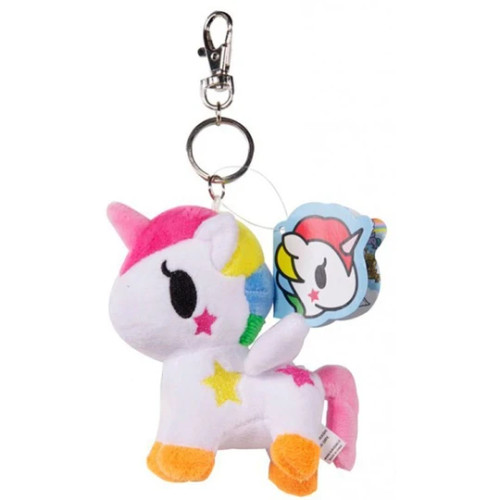 Unicorno Stellina Plush Keychain