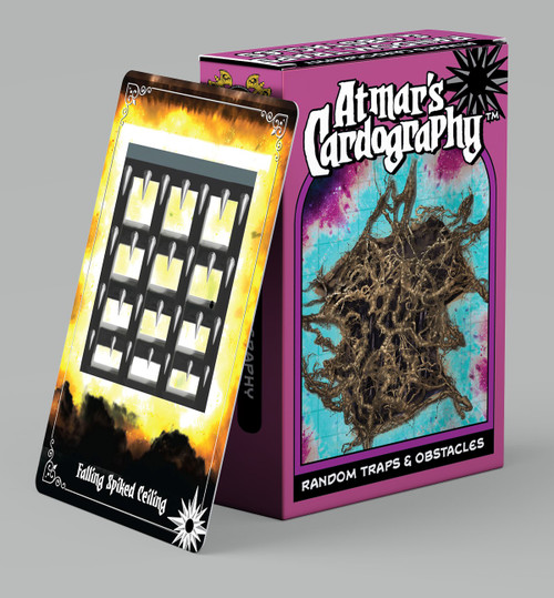Dungeons & Dragons: DM Support - Atmars Cardography - Dangerous Traps & Obstacles