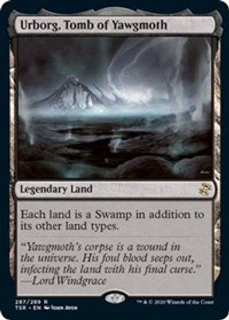 Urborg, Tomb of Yawgmoth [Foil] - Time Spiral: Remastered