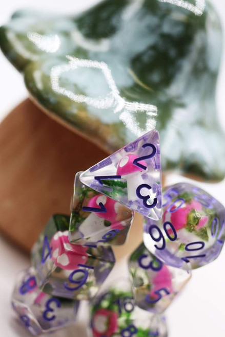 Dice and Gaming Accessories Polyhedral RPG Sets: Stuff-Inside - Fantasy Forest Mushrooms (7)